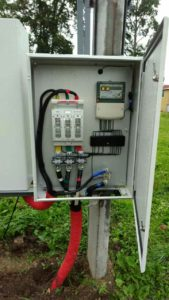 фото электромонтажа оборудования