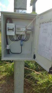 монтаж электрощитка согласно полученным техусловиям
