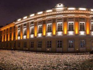 изображение фасадного освещения