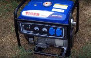 фото бензинового электрогенератора