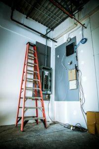 реконструкция электропроводки