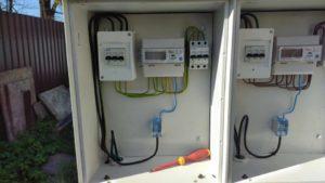 модернизированная коробка распределительного электрощита